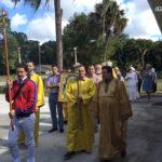 Храмовый праздник монастыря святого Николая в Форт-Майерсе