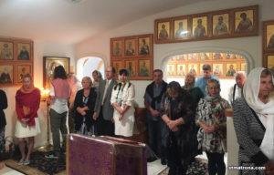 Богослужение в Николаевском монастыре Форт-Майерса в 4-ю Неделю Великого поста