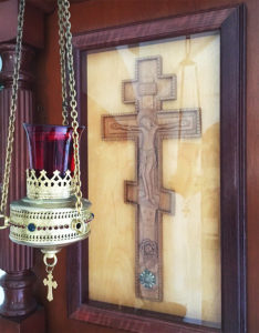 Часть древа Креста Господня