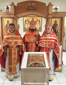 Монастырь святого Николая посетил гость из Чехии