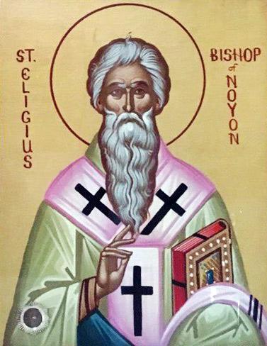 Святитель Елигий Нуайонский (+660)