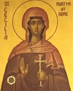 Мученица Цецилия (Кекилия) Римская (+230)