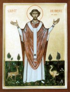 Святой Губерт Льежский (+727)