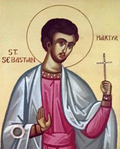 Мученик Севастиан Римский (+288)