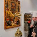 Монастырь святого Николая посетил бывший глава Православной Церкви в Америке