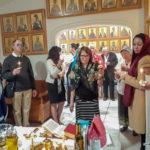 В старейшем монастыре Флориды совершено Таинство Елеосвящения (Соборование)