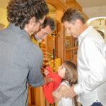 Новые члены православной семьи: четверо детей приняли Таинство Крещения в монастыре