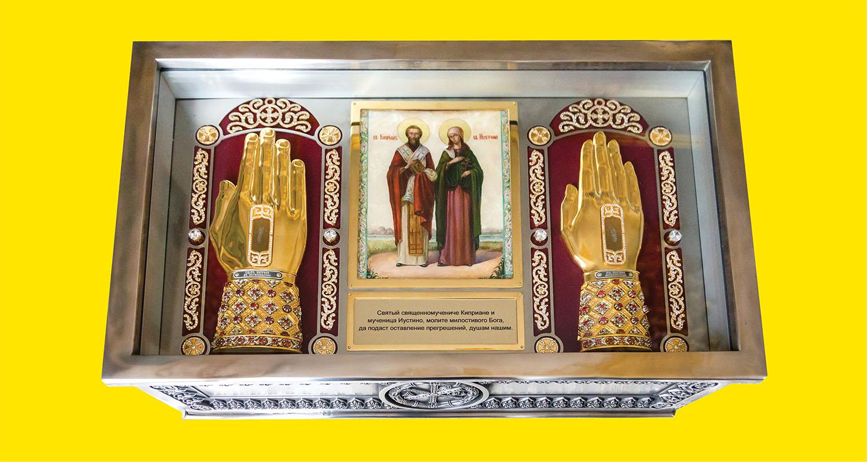 Во Флориду прибудут мощи святых Киприана и Иустины!