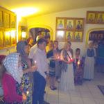 Пасхальное богослужение в русском монастыре в Форт-Майерсе