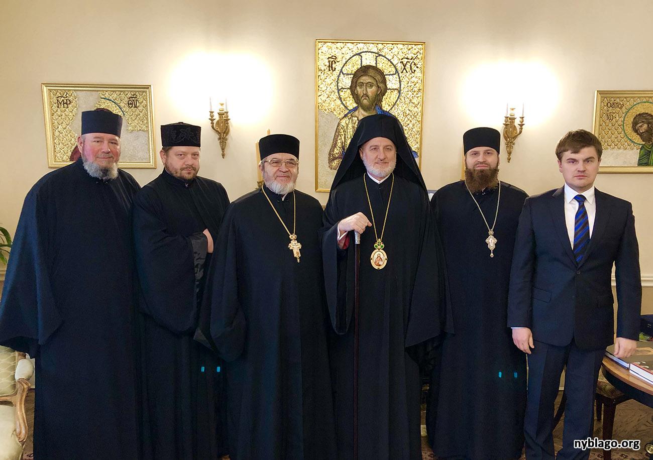 В Американской Архиепископии создано Славянское Викариатство