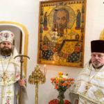 В день перенесение мощей святителя Николая русский монастырь Флориды отметил храмовый праздник