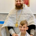 В русском монастыре Флориды семеро детей приняли Таинство Крещения