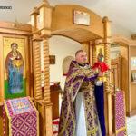 В день воспоминания Тайной Вечери в монастыре совершена Божественная литургия
